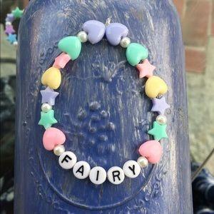Jewelry - Kawaii Pastel Heart Star Fairy Lolita Bracelet